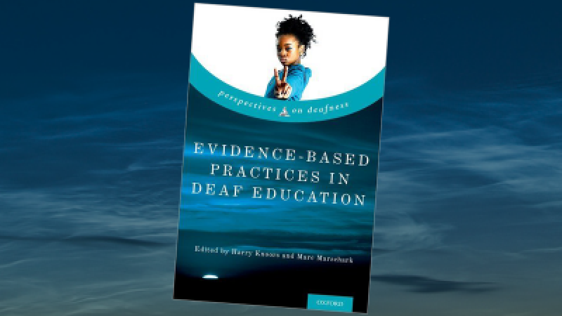 Book evidence based practices in deaf education